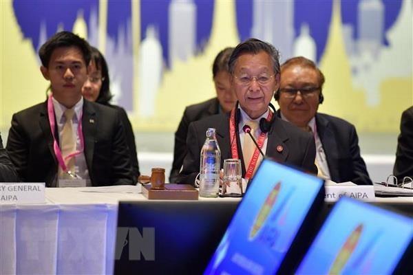 Pho Chu tich Quoc hoi Uong Chu Luu du Cuoc gap lanh dao AIPA-ASEAN hinh anh 1