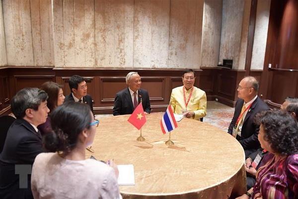 Pho Chu tich Quoc hoi Uong Chu Luu du Cuoc gap lanh dao AIPA-ASEAN hinh anh 4