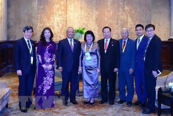 Pho Chu tich Quoc hoi Uong Chu Luu du Cuoc gap lanh dao AIPA-ASEAN hinh anh 5