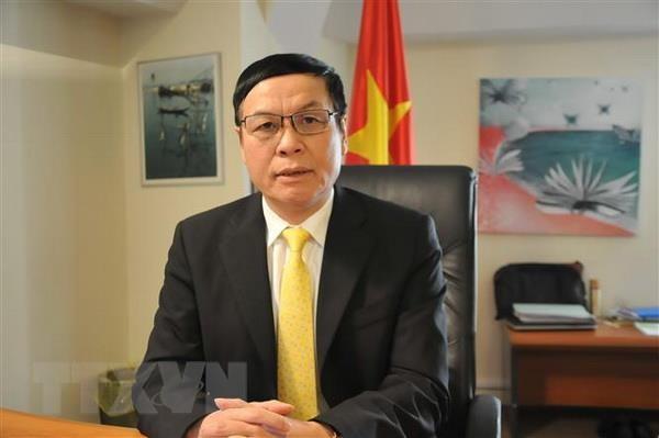 Dai su Vu Anh Quang: Quan he thuong mai VN-EU dat dau moc quan trong hinh anh 1