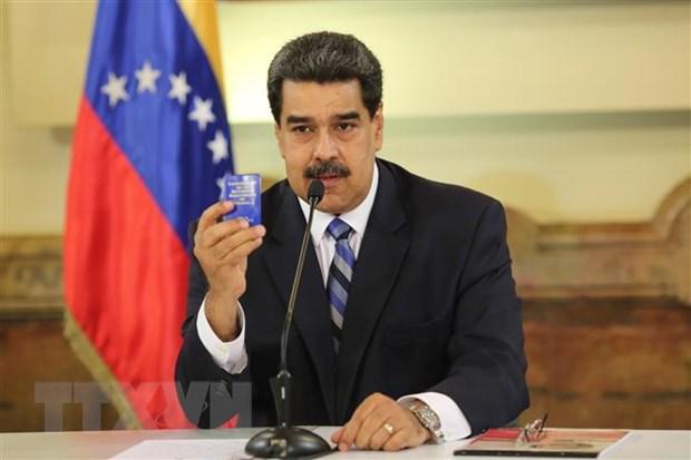 Venezuela lai vua pha vo mot am muu dao chinh moi hinh anh 1