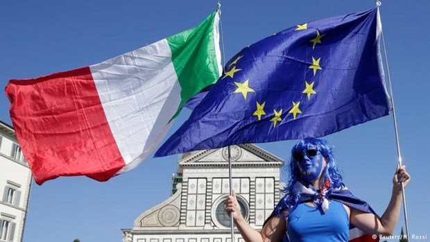 Italy tranh duoc an phat cua Uy ban chau Au ve van de no cong hinh anh 1