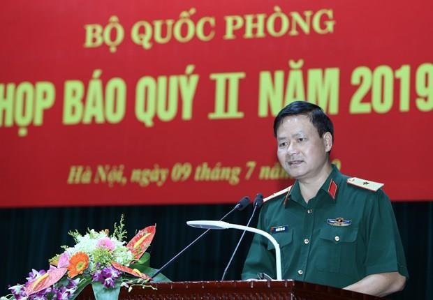 Bo Quoc phong dang lam cac thu tuc xu ly ky luat ong Nguyen Van Hien hinh anh 1