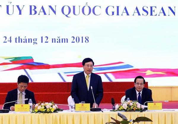 Thong qua lich to chuc, dong y voi mau logo nam Chu tich ASEAN 2020 hinh anh 1