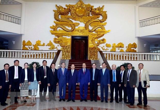 Thu tuong Nguyen Xuan Phuc tiep Bo truong Noi vu Lao hinh anh 2