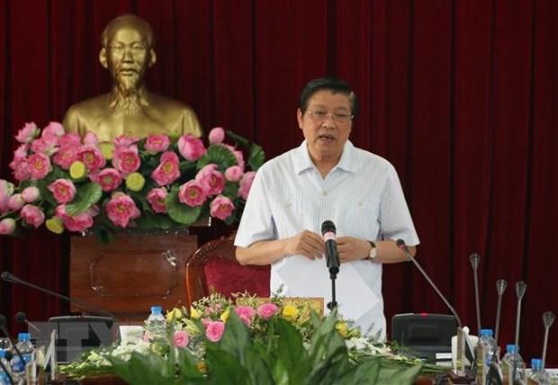Doan kiem tra cua Ban Bi thu lam viec tai tinh Dong Nai hinh anh 1