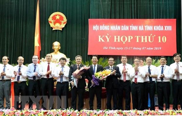 Ong Tran Tien Hung duoc bau lam Chu tich Uy ban Nhan dan tinh Ha Tinh hinh anh 1