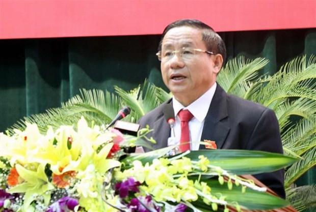 Ong Tran Tien Hung duoc bau lam Chu tich Uy ban Nhan dan tinh Ha Tinh hinh anh 2