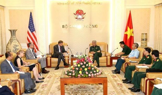Viet Nam-Hoa Ky thuc day hop tac khac phuc hau qua chat doc hoa hoc hinh anh 2