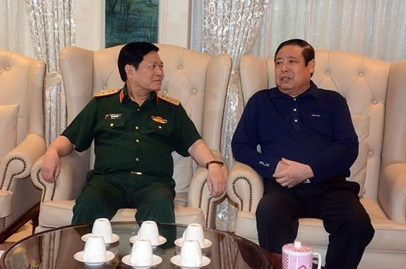 Bo truong Bo Quoc phong tham Dai tuong Phung Quang Thanh hinh anh 1