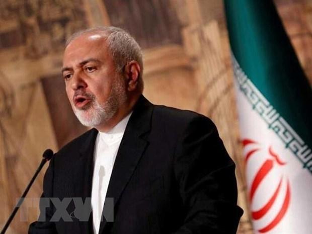 My ap dat trung phat Ngoai truong Iran Mohammed Javad Zarif hinh anh 1