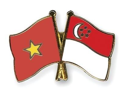 Thu mung nhan dip ky niem lan thu 54 Quoc khanh Cong hoa Singapore hinh anh 1