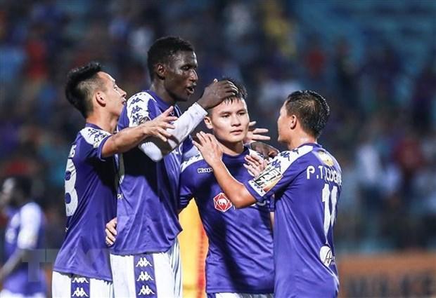 Danh bai SHB Da Nang, Ha Noi FC cung co ngoi dau hinh anh 1