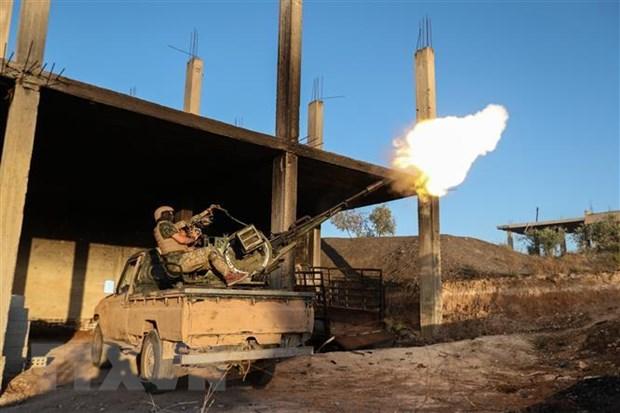 Quan doi Syria dat buoc tien quan trong o tinh Idlib hinh anh 1