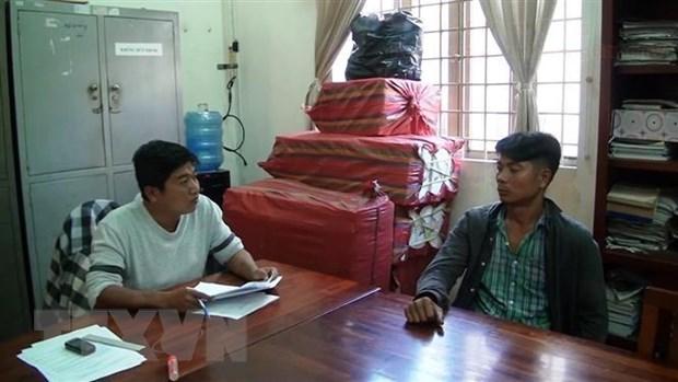 Tay Ninh: Dieu tra cac doi tuong tang tru 10.000 bao thuoc la nhap lau hinh anh 1