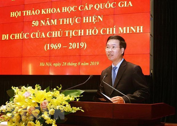Di chuc cua Chu tich Ho Chi Minh la van kien lich su vuot thoi gian hinh anh 3