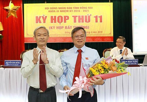 Ong Cao Tien Dung duoc bau lam Chu tich Uy ban Nhan dan tinh Dong Nai hinh anh 1
