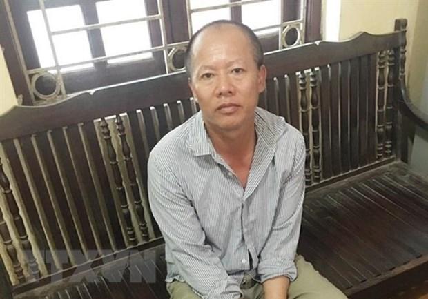 Vu truy sat ca nha em trai tai Dan Phuong: Bat tam giam nghi pham hinh anh 1