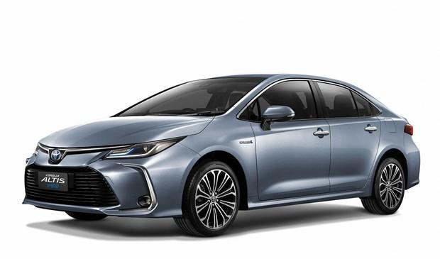 Toyota ra mat mau xe lai Corolla Altis dau tien tai Thai Lan hinh anh 1