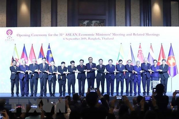 Khai mac Hoi nghi Bo truong Kinh te ASEAN lan thu 51 hinh anh 1