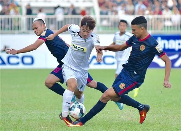 Danh bai Hoang Anh Gia Lai, Sai Gon FC vuon len nhom dan dau hinh anh 1