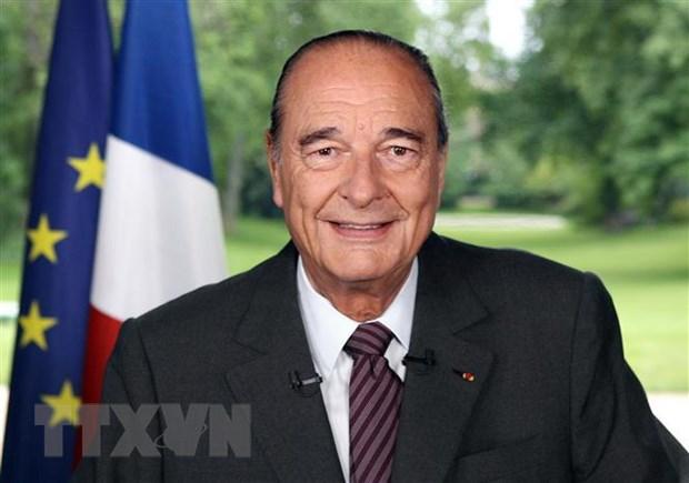 Dien chia buon cuu Tong thong Phap Jacques Chirac qua doi hinh anh 1