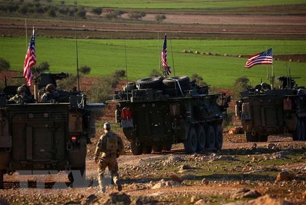 Syria yeu cau binh sy My va Tho Nhi Ky rut quan ngay lap tuc hinh anh 1