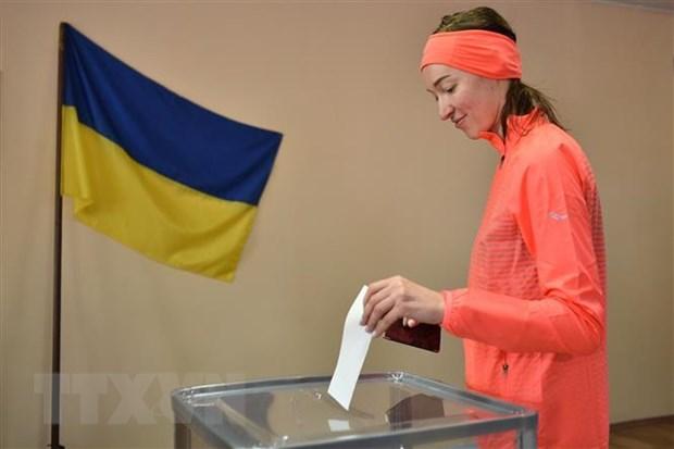 Chinh phu Ukraine va phe doi lap dat thoa thuan bau cu dia phuong hinh anh 1
