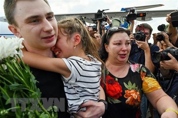 Ukraine len ke hoach dot trao doi tu nhan lon thu 2 voi Nga hinh anh 1