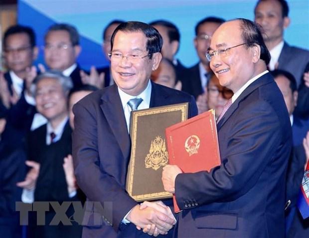 Bao Campuchia danh gia cao ket qua chuyen tham Viet Nam cua Thu tuong hinh anh 1