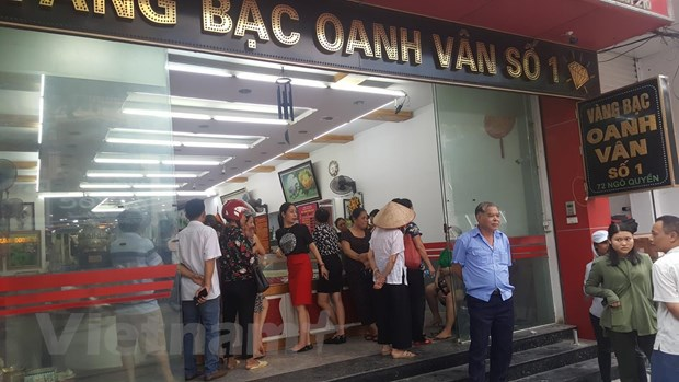 Vinh Phuc: Bat tam giam chu cua hang vang bac lon lua dao 120 ty dong hinh anh 2