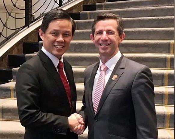 Singapore va Australia khoi dong dam phan hiep dinh kinh te so hinh anh 1