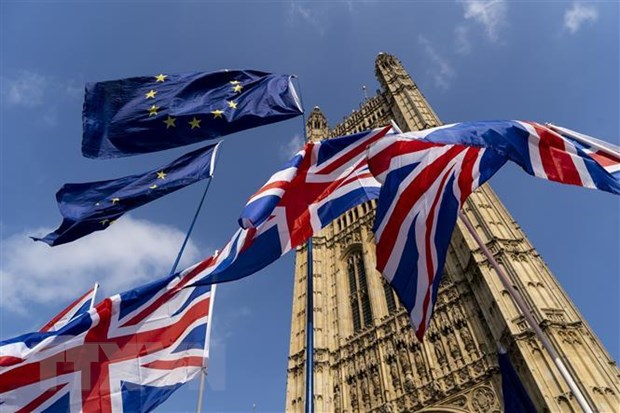 EU xem xet hop thuong dinh khan cap ve thoa thuan Brexit hinh anh 1