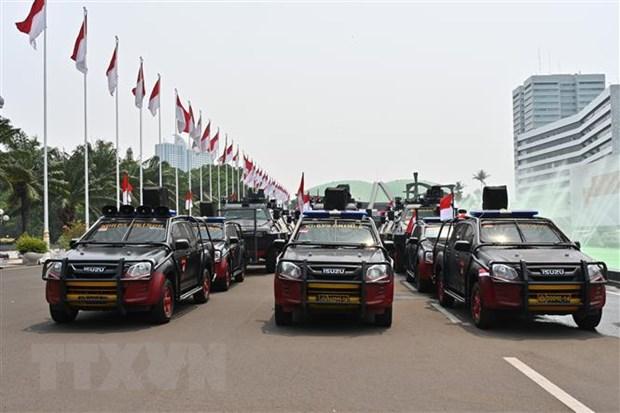 Indonesia siet chat an ninh truoc them le nham chuc tong thong hinh anh 1