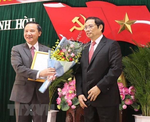 Ong Nguyen Khac Dinh giu chuc Bi thu Tinh uy Khanh Hoa hinh anh 1