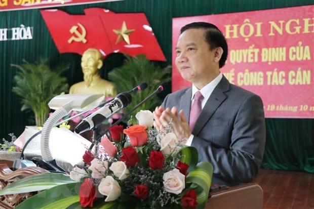 Ong Nguyen Khac Dinh giu chuc Bi thu Tinh uy Khanh Hoa hinh anh 2
