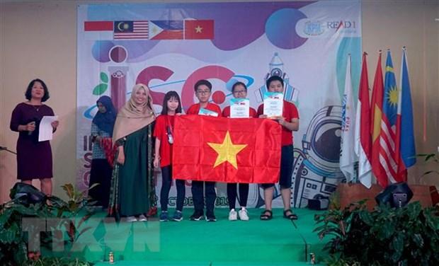 Doan hoc sinh Viet Nam gianh 4 HCV tai ky thi Khoa hoc Quoc te 2019 hinh anh 1