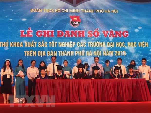Ha Noi ghi danh so vang 86 thu khoa xuat sac nam 2019 hinh anh 2