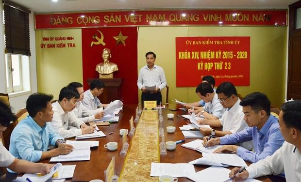 Quang Ninh: Xu ly can bo vi pham trong cong tac giai phong mat bang hinh anh 1