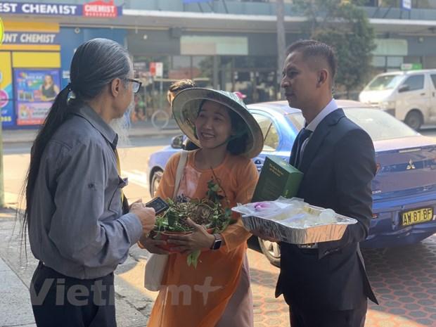 Sau rieng Viet Nam ''dieu hanh'' tren duong pho Australia hinh anh 3