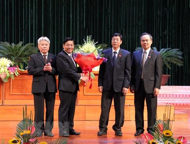Ong Duong Van Thai duoc bau lam Chu tich UBND tinh Bac Giang hinh anh 1