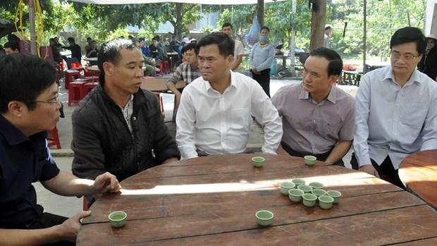 Quang Ninh: Sat lo dat da trong cong truong, 5 cong nhan thuong vong hinh anh 1