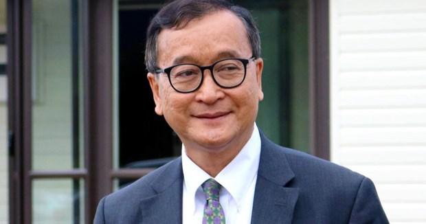 Thu linh doi lap Campuchia Sam Rainsy da den Malaysia hinh anh 1