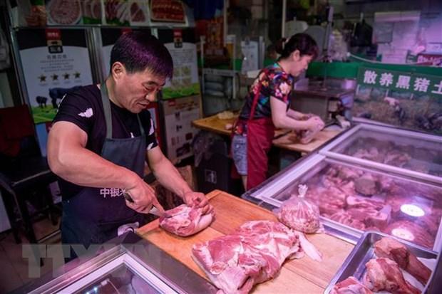 Lam phat cua Trung Quoc len muc cao nhat ke tu nam 2012 hinh anh 1