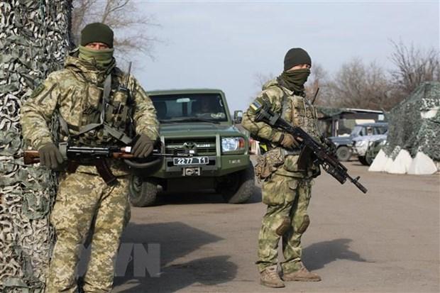 Ukraine rut quan giai doan cuoi tai vung xung dot mien Dong hinh anh 1