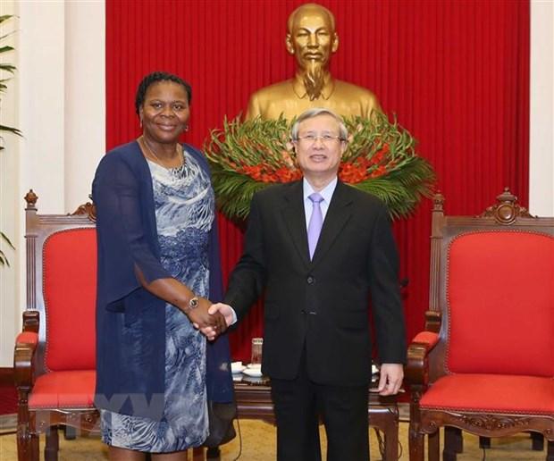 Viet Nam luon coi trong phat trien quan he voi Mozambique hinh anh 1