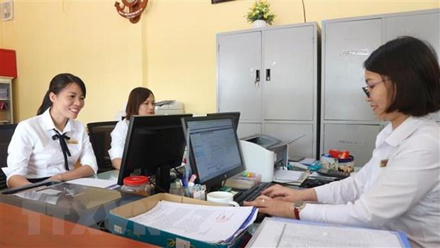 "Ha Tinh: Doc dao mo hinh hanh chinh ""mot cua"" o Truong THPT Cam Binh hinh anh 2"