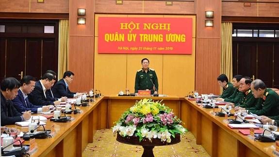 Thuong vu Quan uy Trung uong kiem diem cong tac lanh dao nam 2019 hinh anh 1