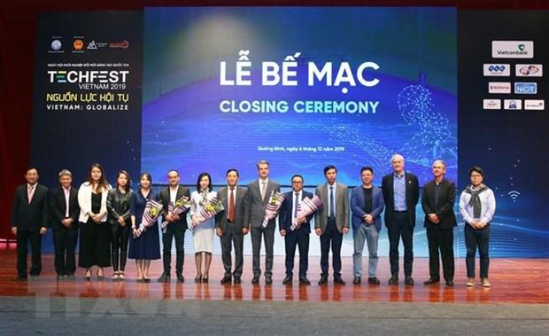 Be mac Ngay hoi khoi nghiep sang tao quoc gia Techfest Viet Nam 2019 hinh anh 1