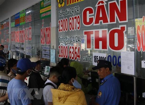 Thanh pho Ho Chi Minh bat dau mo ban ve xe Tet tu ngay 25/12 hinh anh 2